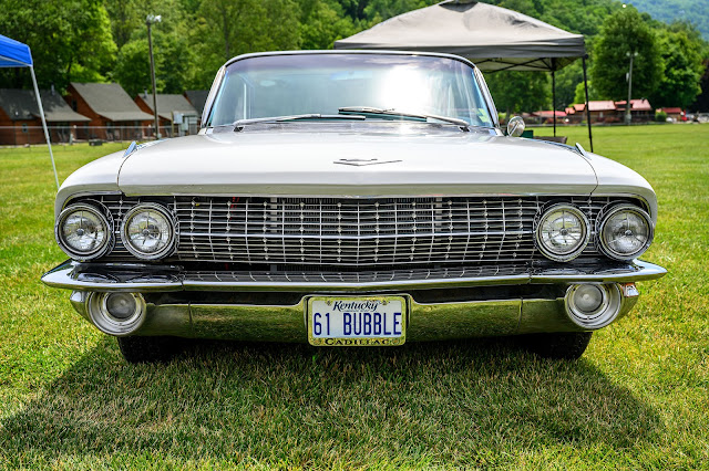 1961 Cadillac at the KKoA Show in Maggie Valley