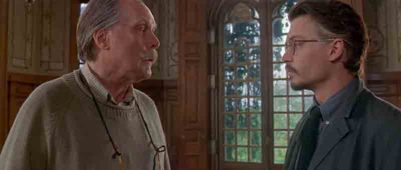 Screen Shot Of Hollywood Movie The Ninth Gate (1999) In Hindi English Full Movie Free Download And Watch Online at worldofree.co