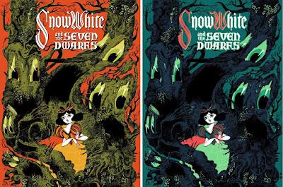 Disney's Snow White and the Seven Dwarfs Screen Print by Taylor Dolan x Mondo