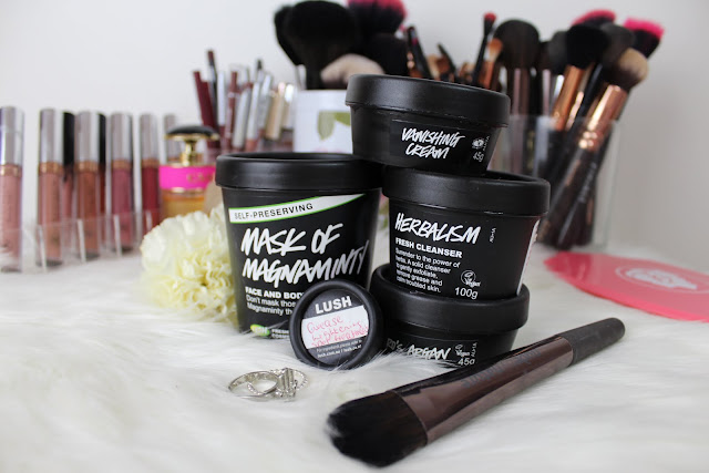 lush, winter, skincare, cleanser, face mask, moisturiser, natural skincare, spot treatment
