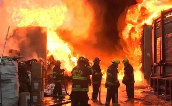 bomberos, fuego,