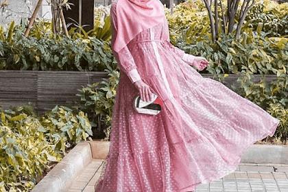 Intip Gaya Hijab Citra Kirana Untuk Momen Lebaran