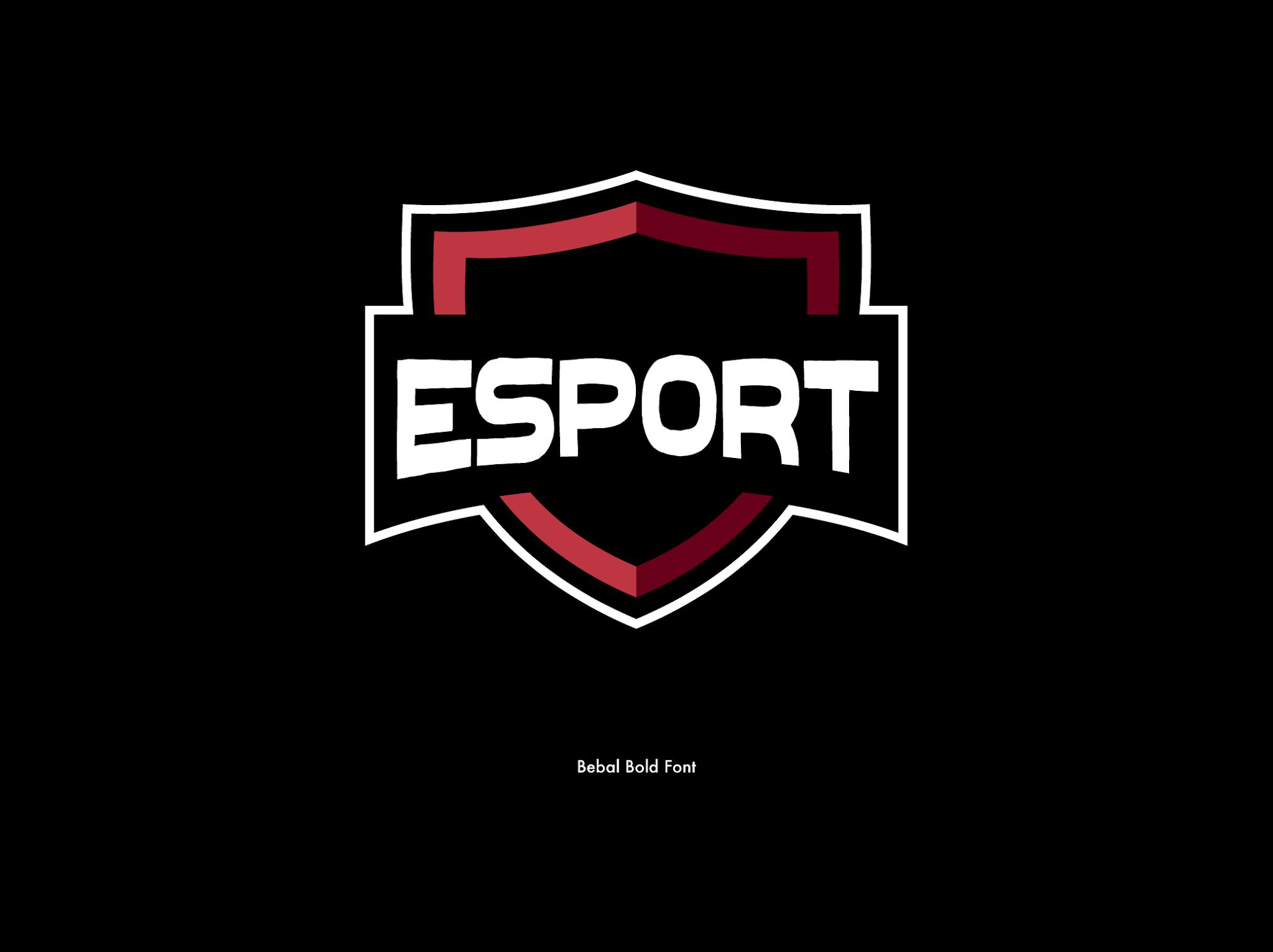 Best Free 28 Font For Esport Logo Design Part 1