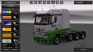 Truck - Mercedes Actros & Arocs SLT Big Stars