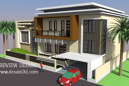 Jasa Desain 3d rumah split level