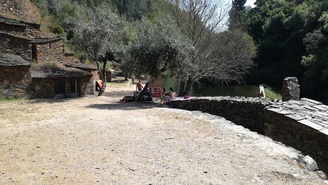 Parque de merendas da Praia Fluvial da Ponte Velha