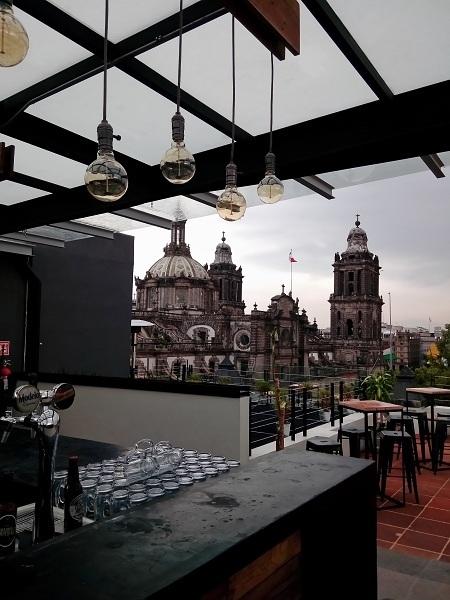 terraza cdmx mundo joven hostel ciudad de mexico