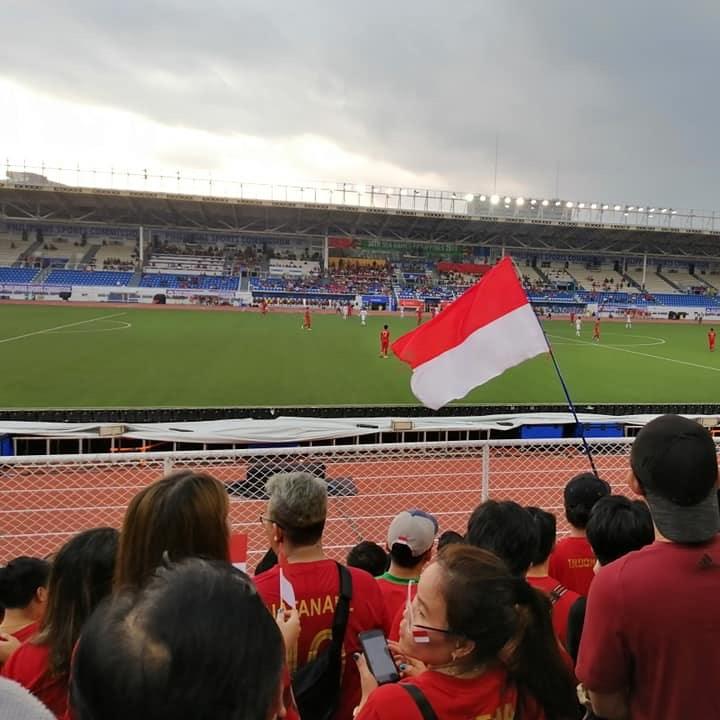 Serunya Menonton Pertandingan Semi Final Sepak Bola SEA Games di Rizal Memorial Stadium Manila