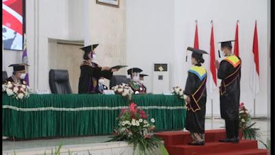 Unsrat Gelar Wisuda Daring Periode I Tahun Akademik 2021/2022
