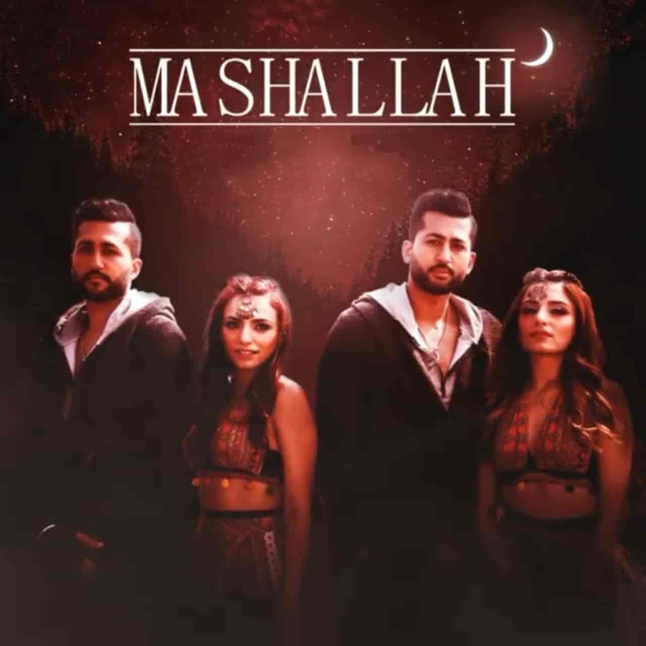 Mashallah Song Image By Sukriti Kakar, Prakriti Kakar & THEMXXNLIGHT