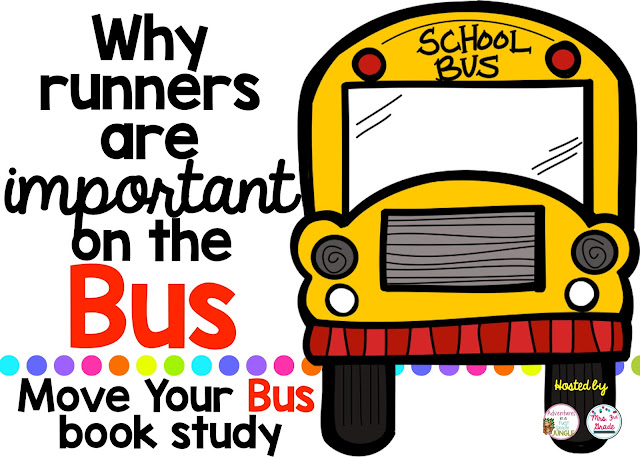 Runners are some of the most important people on the bus!  What can you do to act more like a runner?!