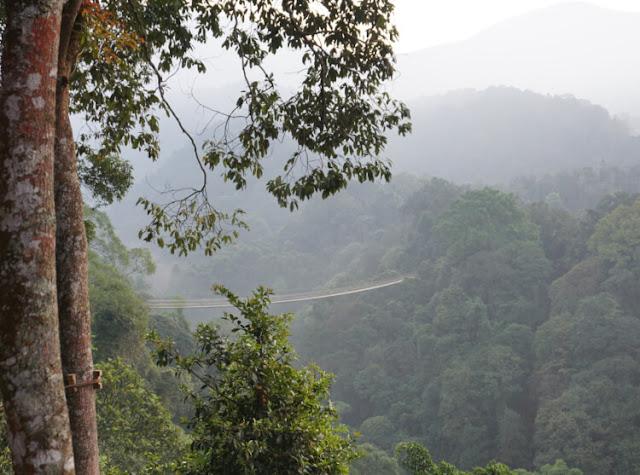 jembatan gantung terpanjang di indonesia, situgunung suspension bridge