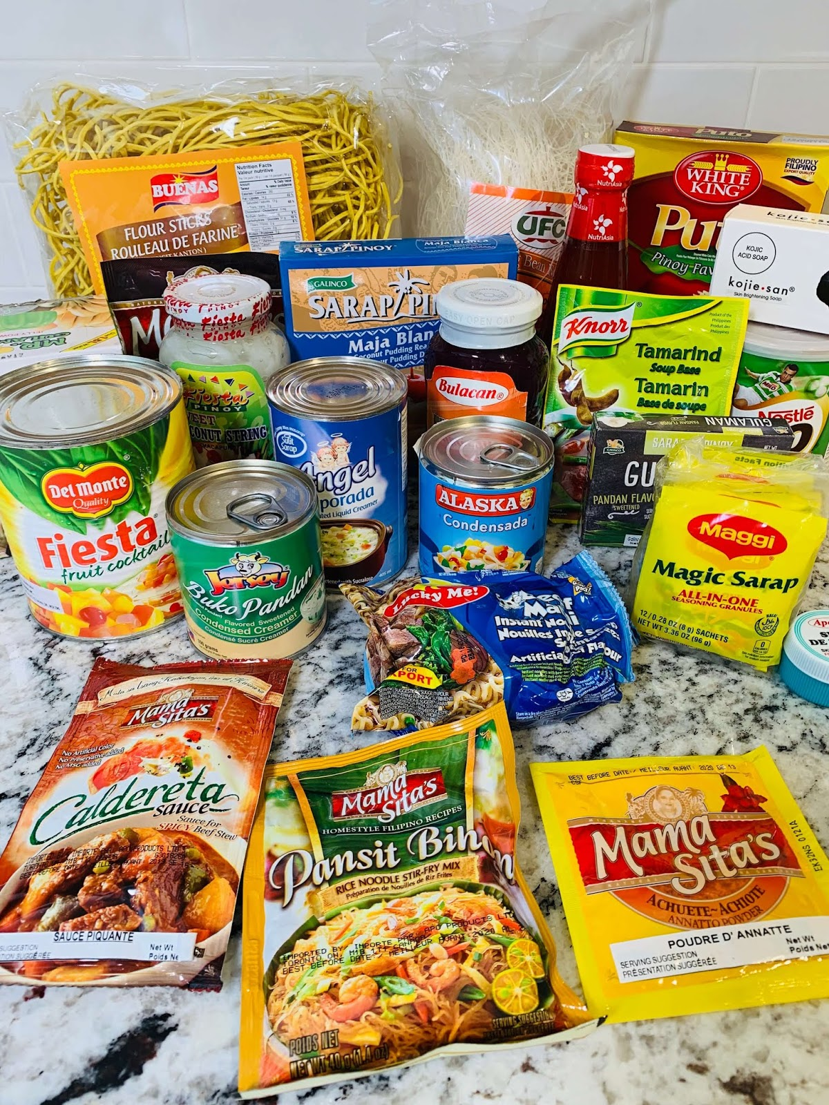 Food Haul for Philippines Grocery Items In Canada
