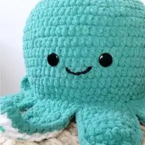 Pulpo a Crochet