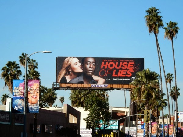 House of Lies season 4 billboard