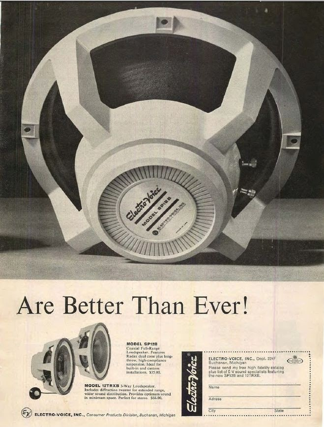 SP12B Ad in Hi-Fi Stereo Review February 1962 - p2