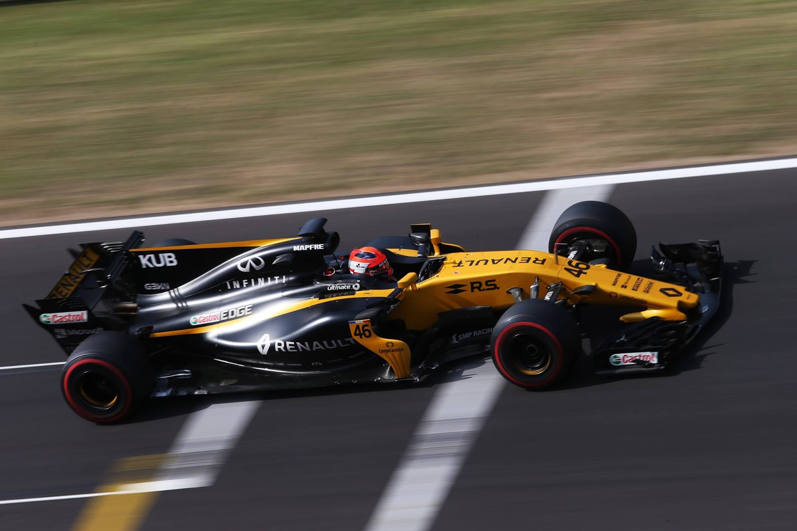 Robert kubica impresses during f1 39 s hungary test for Kubica cars