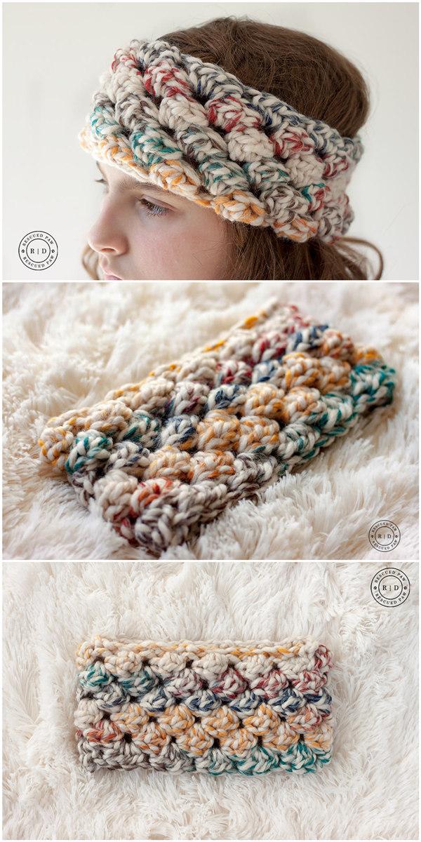 Free Crochet Headband Pattern
