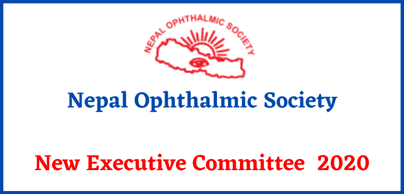 Nepal Ophthalmic Society: New Executive Committee