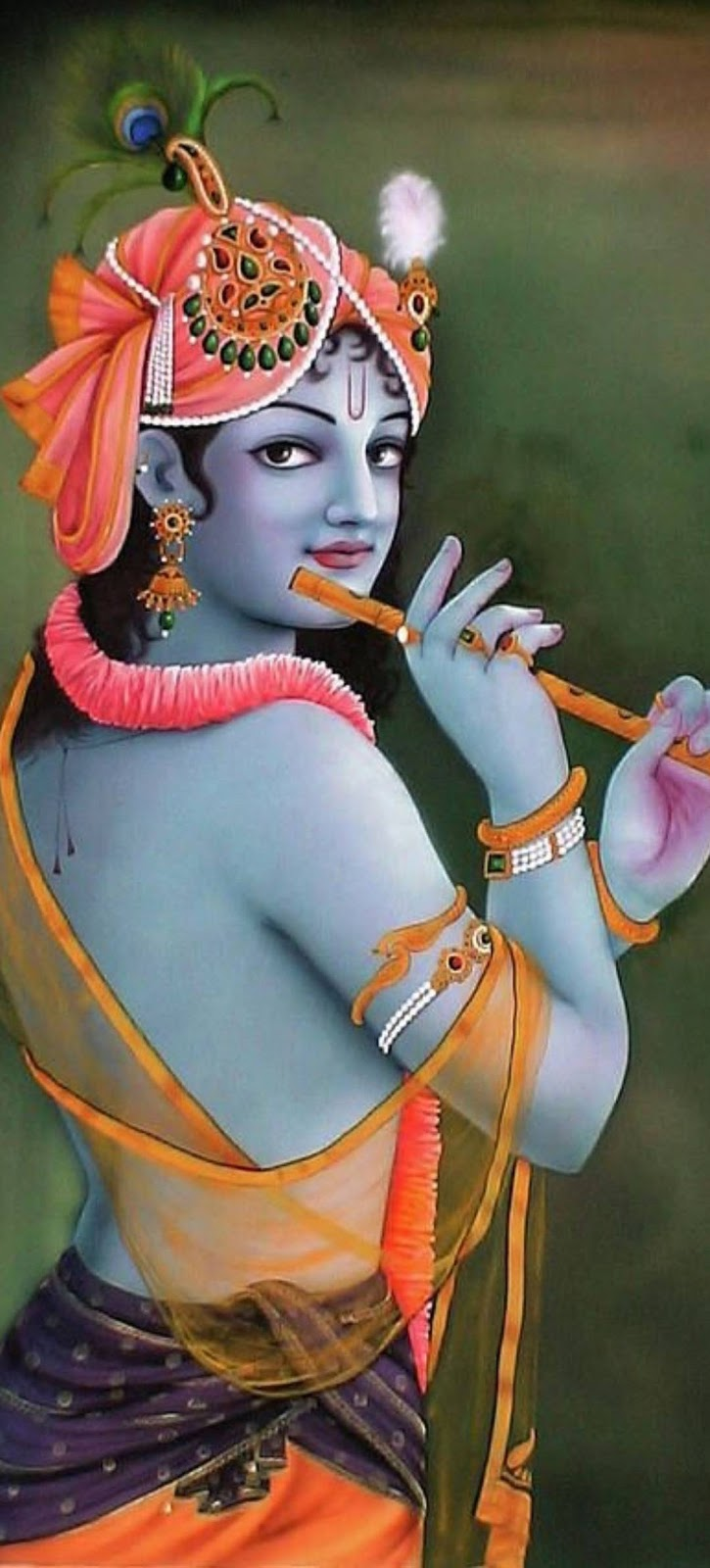 Sri Krishna mobile wallpaper