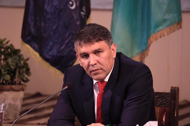 مسعود اندرابی وزیر داخله افغانستان