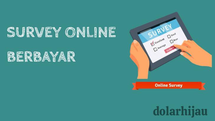 survey online berbayar terbaik dan terpercaya