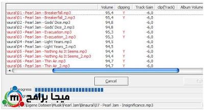 إيجابيات وسلبيات برنامج MP3 Gain