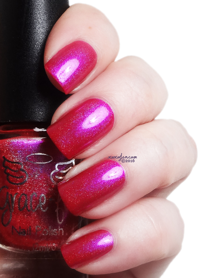 xoxoJen's swatch of Grace-full Pink Lake