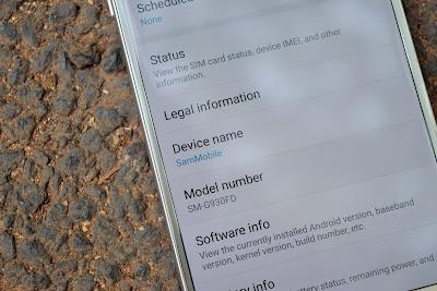 Cara merubah nama Galaxy S7 dan S7 edge