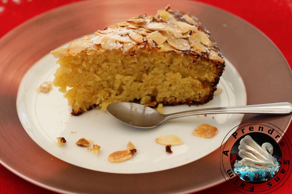 Gâteau aux pommes et amandes sans farine
