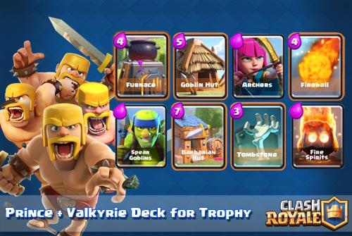 Cara Menggunakan Semua Kartu Hut Deck Arena 5 Clash Royale