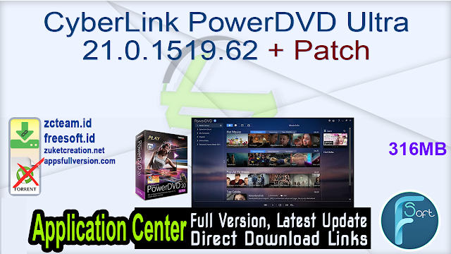 CyberLink PowerDVD Ultra 21.0.1519.62 + Patch_ ZcTeam.id