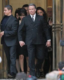 John Travolta as John Gotti in 'Gotti.'