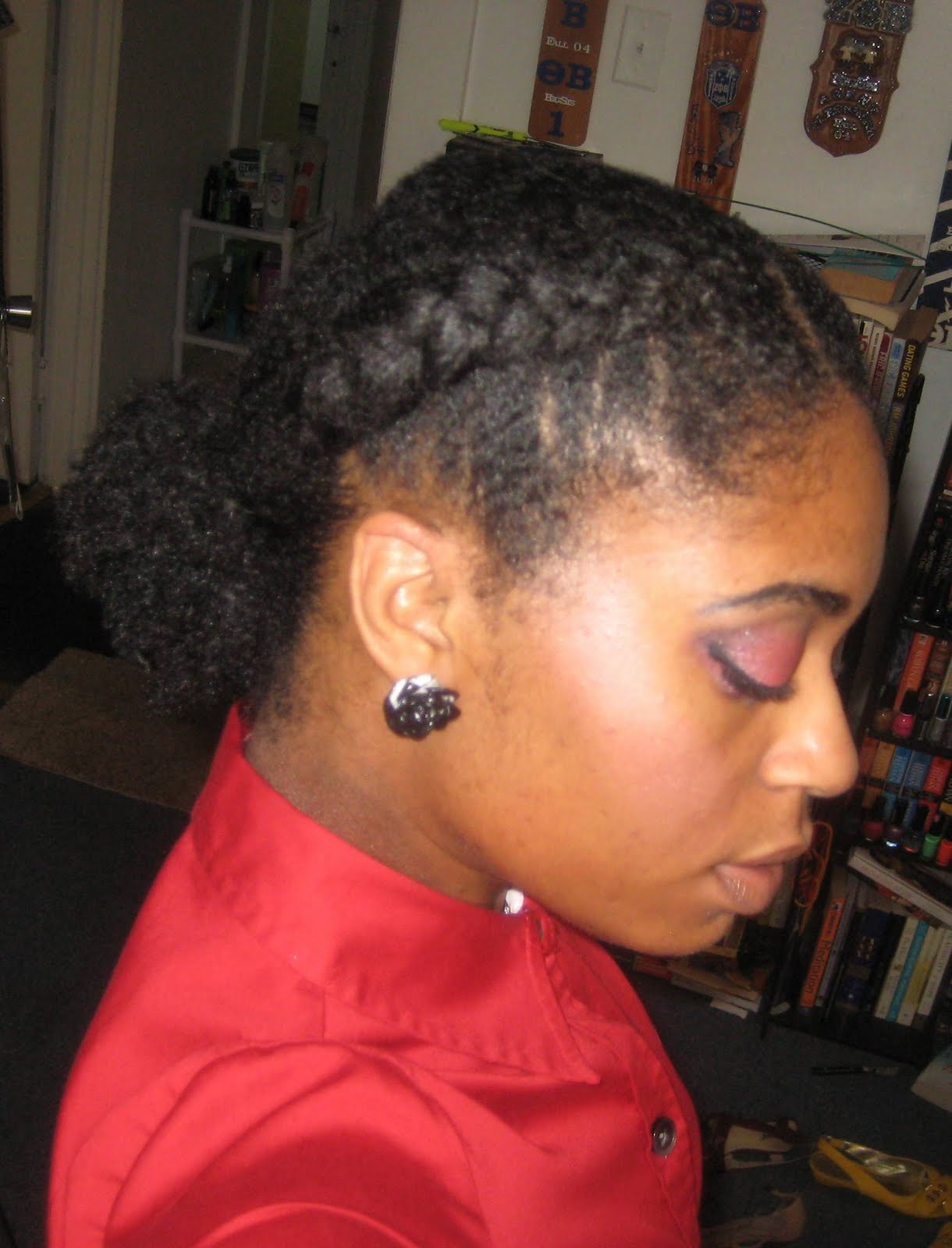 Two French Braids On Natural Hair | www.imgkid.com - The ...