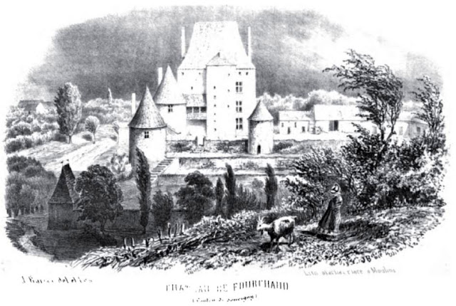 patrimoine de l'Allier château de Fourchaud