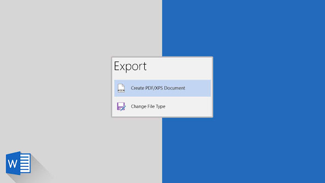 Panduan Lengkap Menyimpan Dokumen dalam Format Lain (Export) di Word 2019