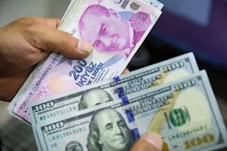 سعر صرف الليرة التركية مقابل العملات الرئيسية الجمعة 23/10/2020