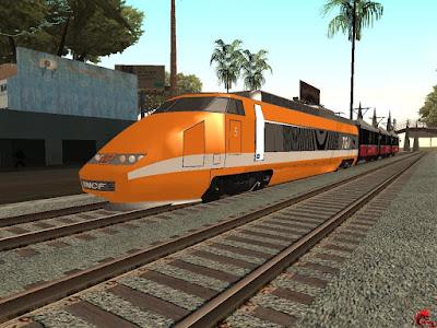 GTA San Andreas Trains Pack v3 Latest Version