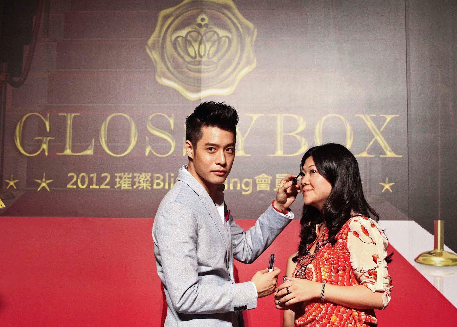周湯豪驚喜現身GLOSSYBOX美妝盒子派對 點燃璀璨Bling Bling會員之夜 - WoWoNews