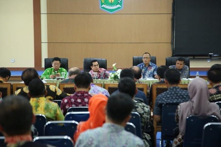 Wako AJB Cermati Capaian Kinerja SKPD Untuk Pastikan Kontinuitas Pembangunan