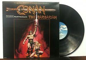 Disco digitalizado da trilha sonora do filme Conan o Bárbaro de 1982.