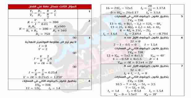 اجابات كتاب الموسوعة في الفيزياء للصف الثالث الثانوي 2021