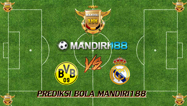 AGEN BOLA - Prediksi Borussia Dortmund vs Real Madrid 27 September 2017
