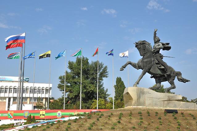 Площадь Суворова в Тирасполе Шойхет