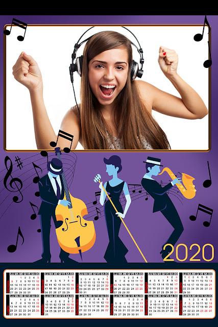 Maschera per calendari mario parietti 2020