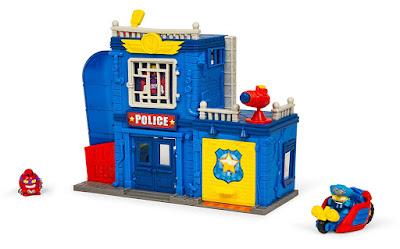 SUPERZINGS : Rivals of Kaboom Estación | Comisaría de Policía | Police Station  Producto Oficial 2018 | Magic Box PSZSP112IN00 | A partir de 4 años  COMPRAR ESTE JUGUETE