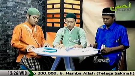 Frekuensi siaran Ahsan TV di satelit Palapa D terbaru