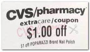 $1.00/$5.00 Poparazzi nail polish CVS crt Coupon (select CVS Couponers)