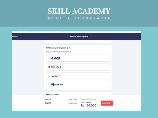 Cara Membeli Kelas di Skill Academy Astin Astanti