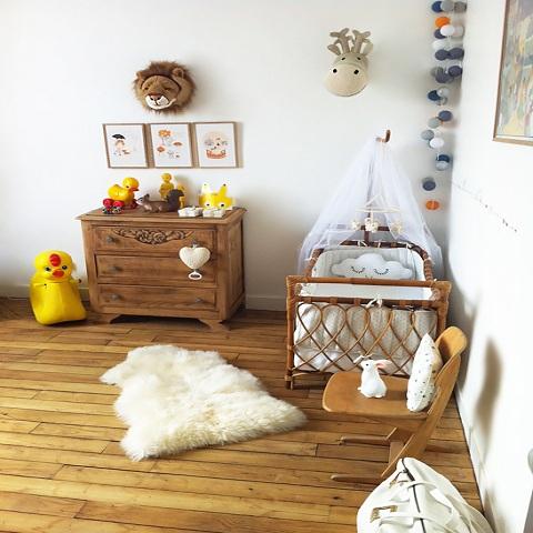 Idée de chambre de bébé